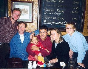 Maria and Family with Dave and Yvonne Stewardson, Oct 1998